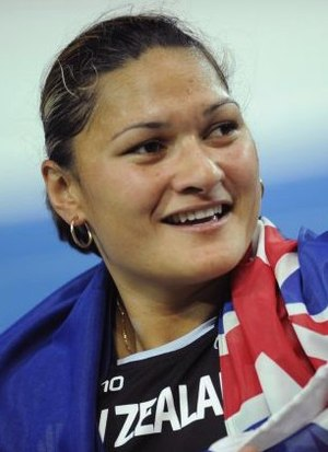 Valerie Adams - Adams after her victory at the 2009 World Championships