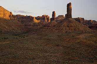 Valley of the Gods - Sandstone towers
