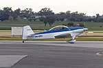 Van's RV-4 (VH-XPV) taxiing at Wagga Wagga Airport (1).jpg