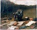Van Gogh Peasant Woman Laundering f148 jh908.jpg