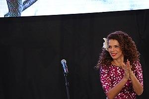 Vanessa da Mata - Vanessa da Mata during ceremony of the Ordem do Mérito Cultural, in Brasilia (2014).