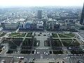 Varšava, Śródmieście, pohled z PKiN (jih).JPG
