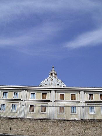 The Vatican guesthouse Domus Sanctae Marthae w...