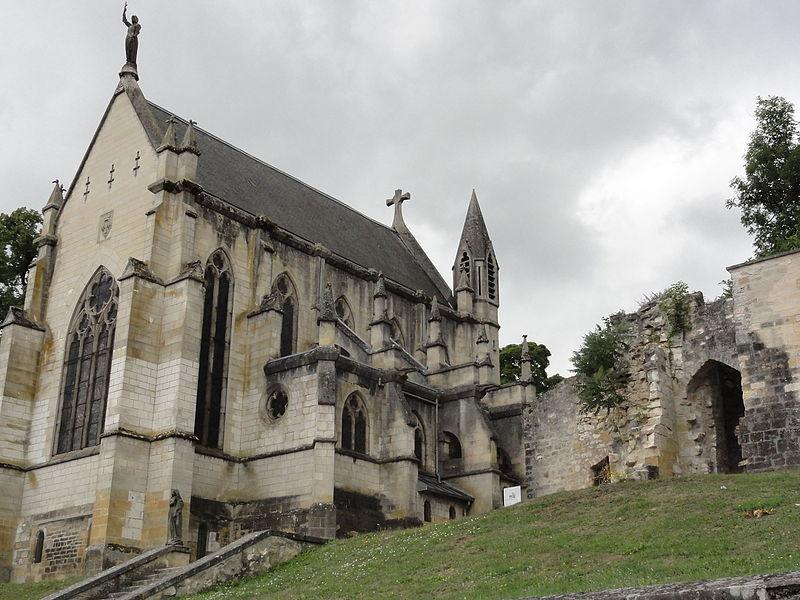Vaucouleurs (Meuse) chapelle castrale