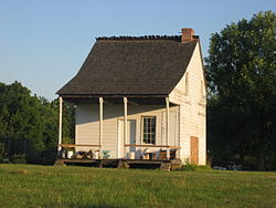 The Venoge Farmhouse, a historic site in the township