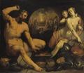 Venus and Vulcan (Cornelis Cornelisz. van Harlem) - Nationalmuseum - 23770.tif