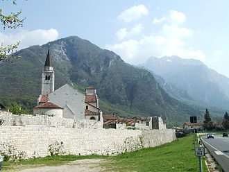 Venzone - Town wall