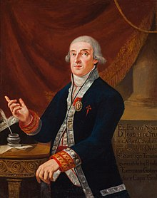 José de Iturrigaray, Viceroy of New Spain (1803-08), by an Unknown Arist