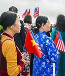 Vietnam Communist Party leaders arrives at Joint Base Andrews, to meet President Obama 150706-F-WU507-252.jpg