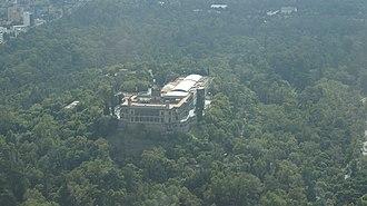 Mexico City - Chapultepec Castle inside Chapultepec park
