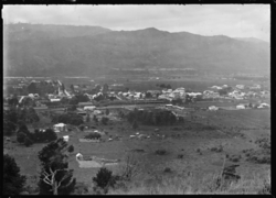 View of Upper Hutt from Wallaceville Hill, 1924