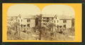 View of damaged buildings, from Robert N. Dennis collection of stereoscopic views.png