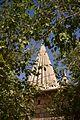 View of spire of Shrine of Sheikh Adi in Lalish, the Yezidi holy site, Kurdistan Regional Government, Iraq 19.jpg