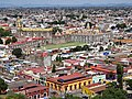 View over Cholula from Summit of Great Pyramid - Cholula - Puebla - Mexico (14924947814).jpg