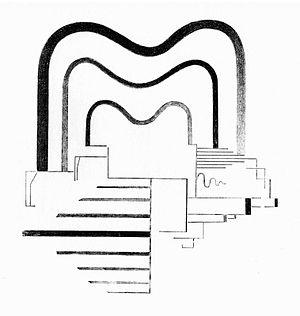 Viking Eggeling - Image: Viking Eggeling Partie des Horizontal vertikalorchesters