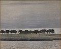 """Vilhelm Hammershøi - Forstudie til """"Solregn. Gentofte Sø"""" - DEP693 - Statens Museum for Kunst.jpg"""