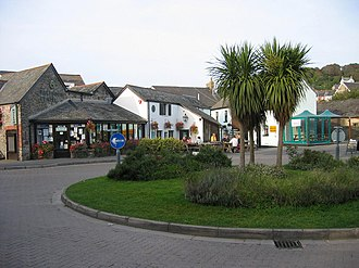 Braunton - Image: Village Green geograph.org.uk 963301