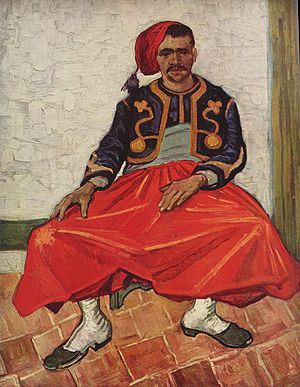 The Zouave - Image: Vincent Willem van Gogh 026