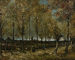 Vincent van Gogh: Poplars near Nuenen