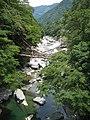 Vine bridge in West Iya Valley.JPG