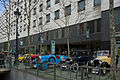 Vintage cars exhibition in front of l'Illa Diagonal.jpg