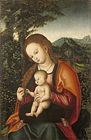 Virgin and Child from the workshop of Lucas Cranach (I) Bonnefantenmuseum 3465.jpg