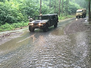 2016 West Virginia flood - The 116th Infantry Brigade Combat Team of the Virginia National Guard was deployed following floods.