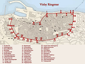 Visby City Wall - Visby City Wall