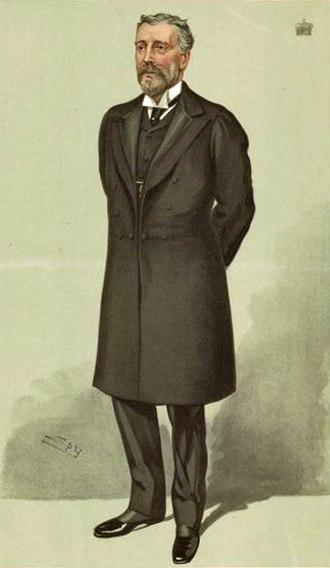 Charles Lyttelton, 8th Viscount Cobham - Image: Viscount Cobham Vanity Fair 5 May 1904