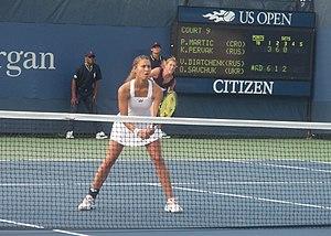 Vitalia Diatchenko - Diatchenko at the 2011 US Open