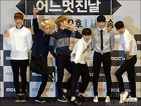 Vixx at the One Fine Day's Showcase on January 2015..JPG