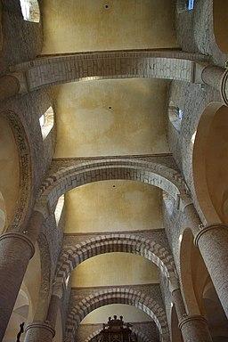 Voûtes de l'Abbaye Saint-Philibert de Tournus