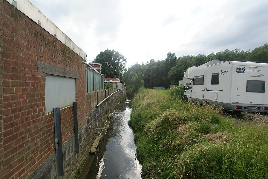 Bertem (Belgium): The river Voer