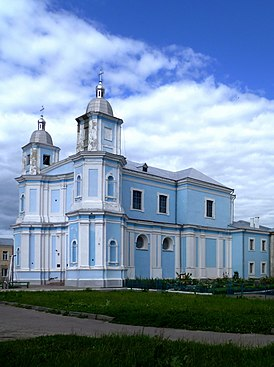 Volodymyr-Volynskyi Volynska-Cathedral of the Nativity of Christ-south-west view.jpg