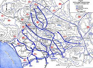 Volturno Line - Summary of U.S. Fifth Army Operations, Italy 12 October to 15 November 1943.
