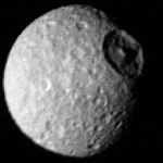 Voyager 1 - view of Saturn's moon Mimas (cropped).jpg