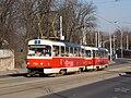 Vozovna Střešovice, Tatra T3SUCS, směr Petřiny.jpg