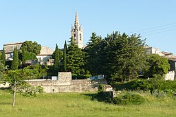 Vue d'ensemble du village Issirac.JPG