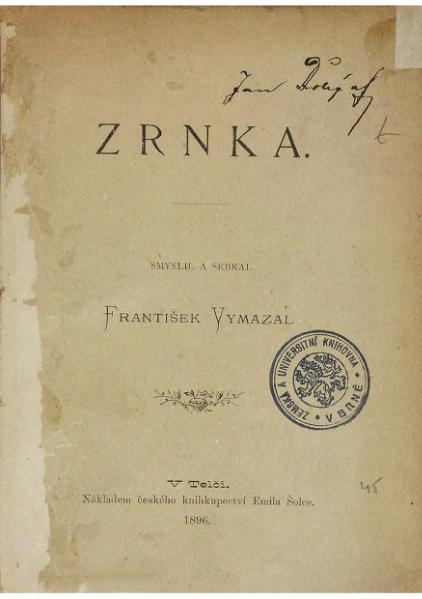 File:Vymazal, František - Zrnka.djvu