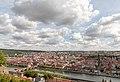 Würzburg, Festung Marienberg, Blick auf die Altstadt -- 2018 -- 0337.jpg