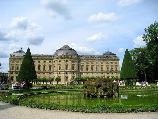Würzburg Residence gardens - IMG 6712