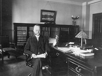 William C. Redfield - William C. Redfield in his office (c. 1913)