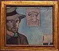 WLANL - MicheleLovesArt - Van Gogh Museum - Emile Bernard - Self-portrait with portrait of Gauguin, 1888.jpg