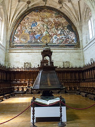 Convento de San Esteban, Salamanca - Choir showing the Triumph of the Church by Antonio Palomino