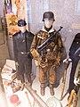 WWII Nazi uniforms Waffe-SS Panzersoldat Camouflage uniform MP40 Panzerfaust Fez Rote Kreuz etc Heeresgeschichtliches Museum Vienna Austria 2013.jpg