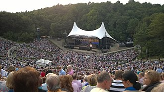Berlin Philharmonic - Waldbühne, site of an annual summer concert