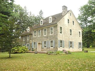 Wall House in Elkins Park, the second oldest house in Pennsylvania