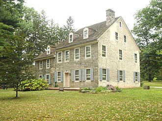 Cheltenham Township, Montgomery County, Pennsylvania - Wall House in Elkins Park, the second oldest house in Pennsylvania