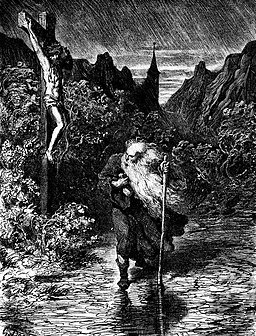Gustave Dore, Le Juif Errant (The Wandering Jew), 1832-1883, Wikimedia Commons