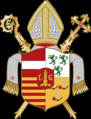 Lower Lorraine - Image: Wappen Bistum Lüttich
